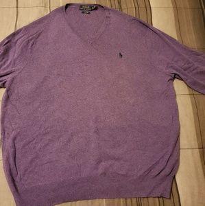 Polo Sweater - V Neck